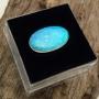 Andamooka Opal Solid Oval Cabochon 15.3x9.2mm