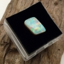 Andamooka Opal Painted Lady Rhombus  Cabochon 10.5x7.7mm