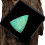 Andamooka Opal Solid Freeform Triangle Cabochon 22.3x17.5mm