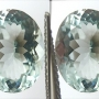 Aquamarine Oval Pair 3.68 carats total
