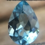 Aquamarine Pear 7x5mm