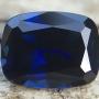 Australian Sapphire Blue Cushion 6.5x5mm