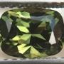 Australian Sapphire Green Cushion 6.6x5.1mm