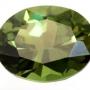 Australian Sapphire Green Oval 6.5x5mm