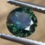 Australian Sapphire Green Round 5.6mm