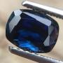 Australian Sapphire Parti Blue Cushion