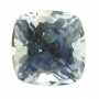 Ceylon Sapphire Blue Square Cushion 7.4mm