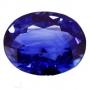 Ceylon Sapphire Blue Oval 1.45 carats