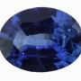 Ceylon Sapphire Blue Oval 0.6 carats
