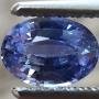 Ceylon Sapphire Blue Oval 0.73 carats
