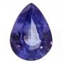 Ceylon Sapphire Blue Pear 0.9 carats