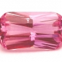Madagascan Sapphire Pink Radiant 1.35 carats