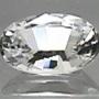 Ceylon Sapphire White Oval 7x5mm