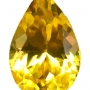 Ceylon Sapphire Yellow Pear 0.5 carats