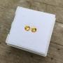 Ceylon Sapphire Yellow Round Pair