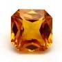 Ceylon Sapphire Yellow Square Radiant  5mm