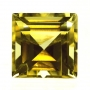 Ceylon Sapphire Yellow Square Step Cut 5.4mm