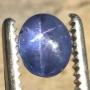 Ceylon Star Sapphire Blue Oval Cabochon