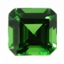 Tsavorite Garnet Square Emerald Cut 4.2mm