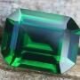 Tsavorite Garnet Emerald Cut 0.65 carats