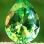 Tsavorite Garnet Pear 0.59 carats