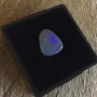 Lightning Ridge Black Opal Solid Freeform Cabochon