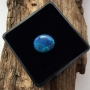 Lightning Ridge Black Opal Solid Oval Cabochon 12.6x10.8mm