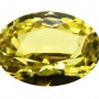 Madagascan Sapphire Yellow oval 0.75 carats