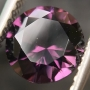 Spinel Purple Round 6.4mm
