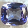 Tanzanite Cushion