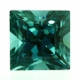 Tourmaline Blue Princess Cut