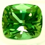 Tourmaline Green Cushion
