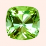 Tourmaline Green Square Cushion