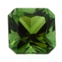 Tourmaline Green Square Radiant 6.2mm