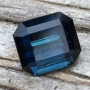 Tourmaline Indicolite Emerald Cut