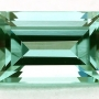 Tourmaline Mint Green Step Cut