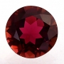 Tourmaline Pink Red Round 7.25mm
