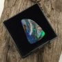 Boulder Opal Solid Freeform Triangle Cabochon 17x11.7mm