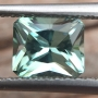 Tourmaline Icy Blue Radiant 0.81 carats
