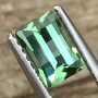 Tourmaline Green Opposed Bar Cut 0.92 carats