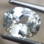 Ceylon Sapphire White Oval 7x5.6mm