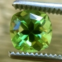 Tourmaline Green Square Cushion  7.9mm