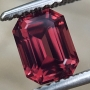 Spinel Red Emerald Cut 1.21 carats