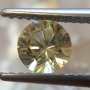 Ceylon Sapphire Light Yellow Round 5.5mm