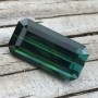 Tourmaline Green Blue Emerald Cut 5.25 carats