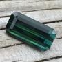 Tourmaline Green Blue Emerald Cut 5.25 carats