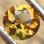 Tourmaline Yellow Round 4.9mm