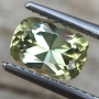 Tourmaline Yellow/Green Cushion 1.37 carats