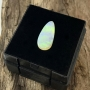 White Cliffs Opal Solid Pear Cabochon 13.2x6mm
