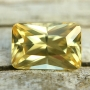 Zircon Yellow Radiant  7.5x5mm